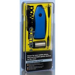 Зарядний пристрій для мобільних телефонів з перехідником для зарядки від прикурювача авто PowerTraveller