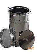 Бак отстойник для меда с нержавеющим фильтром 35 л