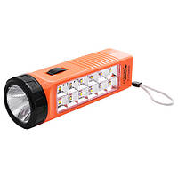 Фонарь Luxury 1168TP, 1LED+12SMD