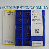 Токарные пластины ZCC-CT DCMT070204-EF YBG205 односторонние
