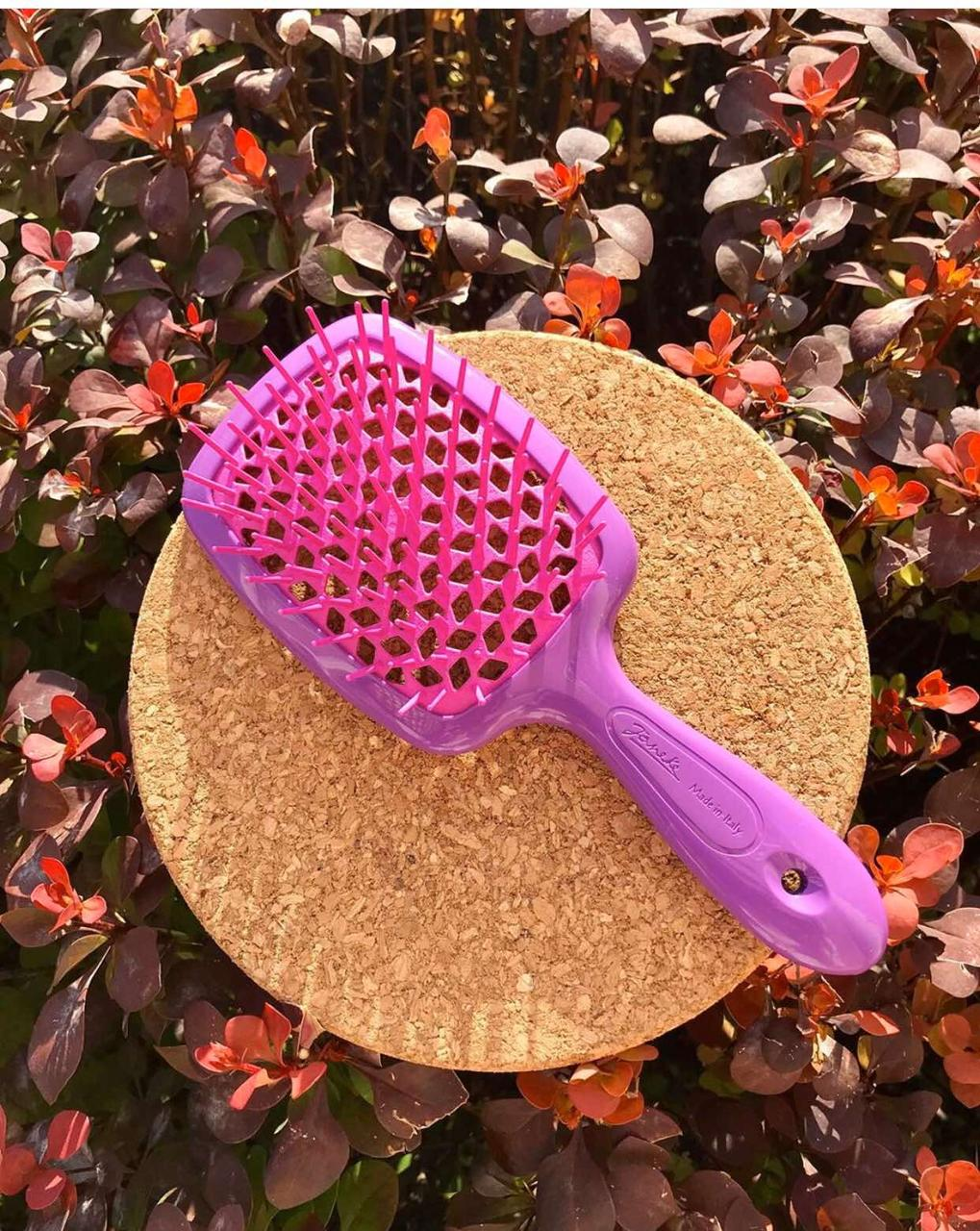 Расческа Janeke Superbrush With Soft Moulded  Tips