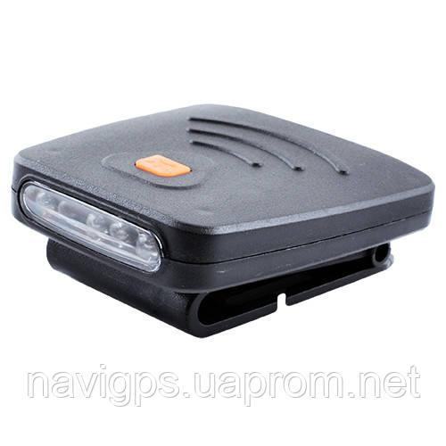 Фонарь на кепку Police 1805, USB, датчик на движение, аккумулятор