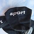 Носки женские микрофибра черные, размер 35-39, фото 3