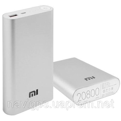 Power Bank MI 20800mAh USB(2A), индикатор заряда (9600mAh)