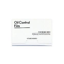 Etude House Матирующие салфетки Oil control film 50 шт