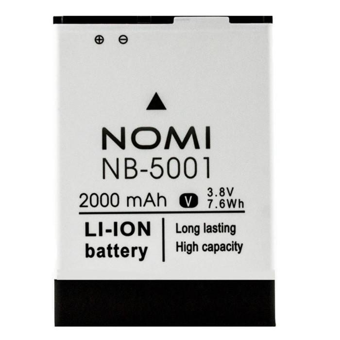 Аккумулятор акб ориг. к-во Nomi NB-5001 i5001 EVO M3, 2000mAh