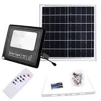 Прожектор 9060 60W SMD, IP67, сонячна батарея, пульт ДУ, вбудований акумулятор, таймер, датчик світла, фото 1