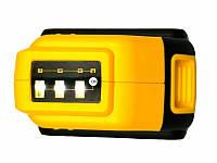 USB адаптер для аккумулятора Dewalt 18V 20V с фонариком (LED) + Подарок