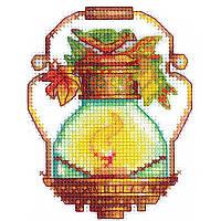 Набор для вышивки крестом Сделай Своими Руками Огоньки. Птичка О-19