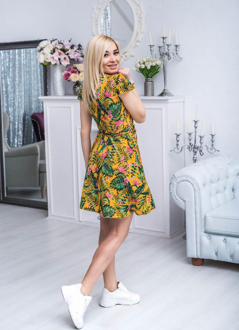 платье на запах короткое фото