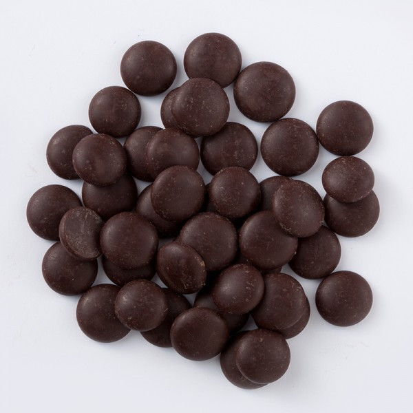 Чорний шоколад Ariba темні диски 54 % Master Martini
