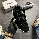Fila D-Formation Black White, фото 2