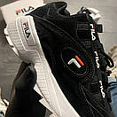 Fila D-Formation Black White, фото 4