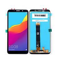 Дисплей (LCD) Huawei Y5 (2018) | Y5 Prime (2018) | Honor 7A | DRA-L02 | DRA-L22 с тачскрином, чёрный, оригинал (PRC), фото 1