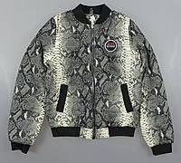 {есть:146,152} Куртка змеиный принт для девочек,146-164 рр. Артикул: PL0091, фото 1