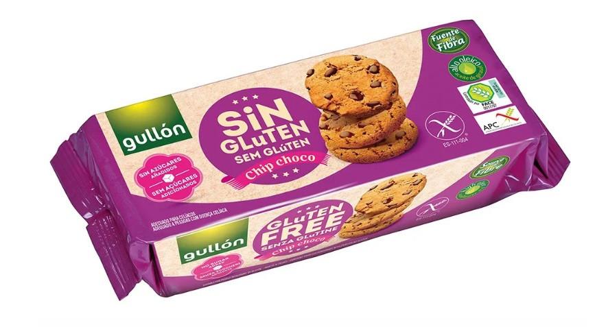 Печиво GULLON без глютену ChipChoco, 130 г