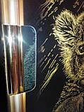 Гравюра А4 LUXE з рамкою Львенок Золото, фото 3