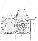Коробка отбора мощности КОМ EATON FS/ FSO / H / V / 6109 - 6209 - 8209 (левое вращение), фото 9