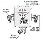 Коробка отбора мощности КОМ EATON FS/ FSO / H / V / 6109 - 6209 - 8209 (левое вращение), фото 10