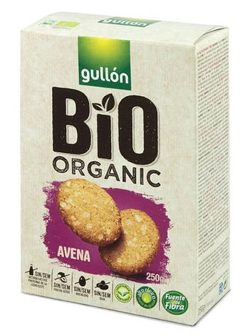 Печиво GULLON BIO Avena , 250г, фото 2