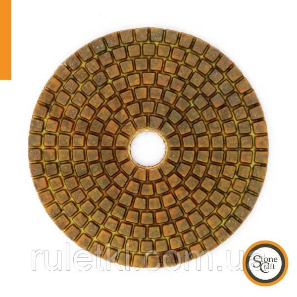 Металлизированный алмазный шлиф круг  № 200 d 100мм ST1
