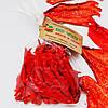 Овочеві чіпси із солодкого перцю, 40 грам: відповідають 700-800 г свіжого перцю