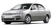 Дефлекторы окон, ветровики \ Toyota Corolla 2001-2007 \  Тойота Королла \ RACING
