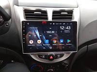Штатная автомагнитола для Hyundai Accent Solaris Verna 2010-2016 на ANDROID 8.1