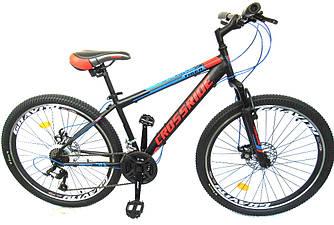 """Велосипед горный CROSSRIDE Tiger 26"""" ST Черный"""
