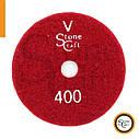 Металлизированный алмазный шлиф круг  № 400 d 100мм ST2, фото 3