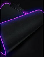 Игровая поверхность для мышки Rasure Flashy RGB Gaming Mouse Pad c подсветкой 350 x 250 мм