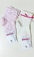 Носки ажур с ленточками Yumese для девочки