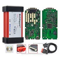 Сканер одноплатный Multidiag Pro Bluetooth (Delphi 150e) 2016.1v Делфи, Мультидаг про для автомобиля/грузовика