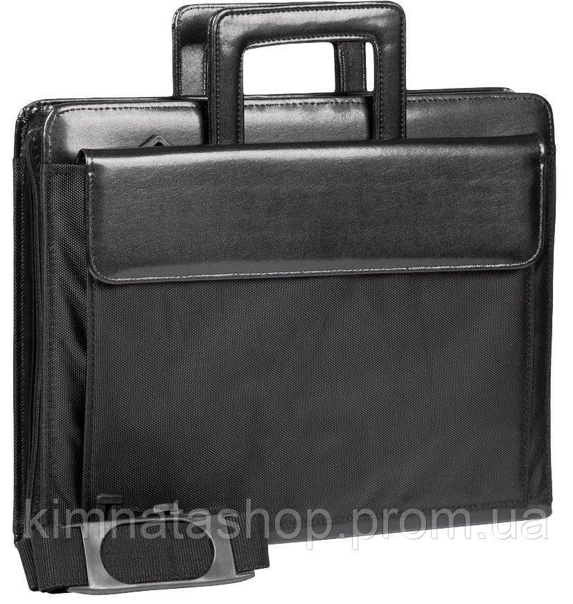 Діловий портфель з відділом для ноутбука 15,6 JPB чорний