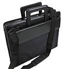 Діловий портфель з відділом для ноутбука 15,6 JPB чорний, фото 5