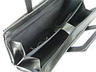 Деловой портфель с отделом для ноутбука 15,6 JPB черный, фото 9