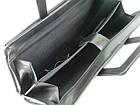 Діловий портфель з відділом для ноутбука 15,6 JPB чорний, фото 9
