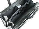 Деловой портфель с отделом для ноутбука 15,6 JPB черный, фото 10