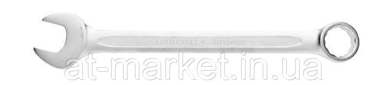 Ключ комбинированный из стали CrV, 12 мм, DIN 3113 HOEGERT HT1W412