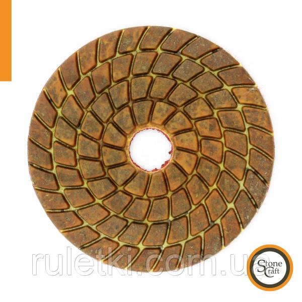 Металізований алмазний шліф коло № 100 d 100мм ST2
