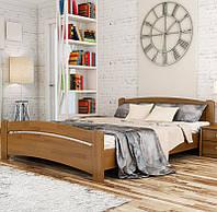 Деревянная кровать Венеция из бука. Односпальная, полуторная или двуспальная кровать из натурального дерева