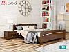 Дерев'яне ліжко Венеція з бука. Односпальне, односпальних або двоспальне ліжко з натурального дерева, фото 4