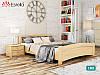 Дерев'яне ліжко Венеція з бука. Односпальне, односпальних або двоспальне ліжко з натурального дерева, фото 5