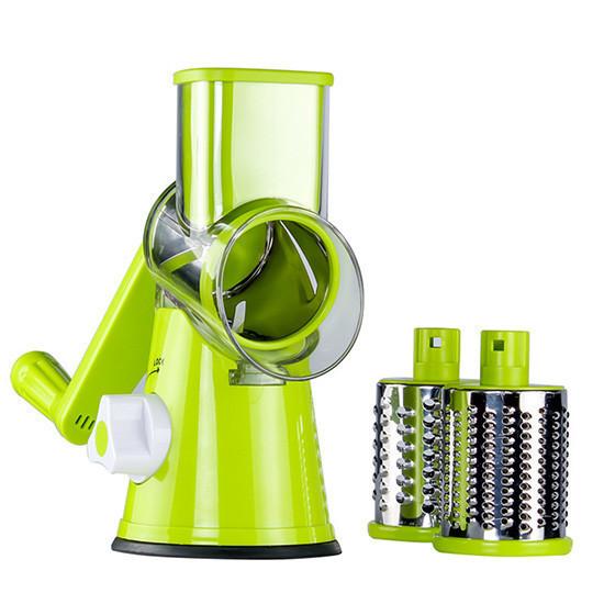 Ручная овощерезка-мультислайсер Kitchen Master для овощей и фруктов, зеленый цвет