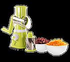 Ручная овощерезка-мультислайсер Kitchen Master для овощей и фруктов, зеленый цвет, фото 3