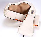 Массажер для шеи, плеч и спины с ИК-прогревом Massager of Neck Kneading с прогревом, фото 6