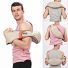 Массажер для шеи, плеч и спины с ИК-прогревом Massager of Neck Kneading с прогревом, фото 7