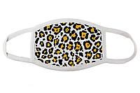 Стильна тканинна маска для обличчя Леопард