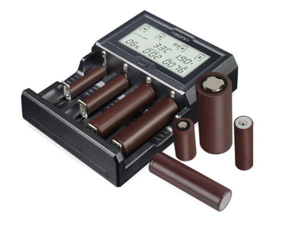 Професійне Зарядний пристрій для акумуляторів MIBOXER C4-12