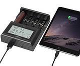 Професійне Зарядний пристрій для акумуляторів MIBOXER C4-12, фото 5